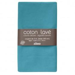 Coton lavé 300x130cm - Topaze