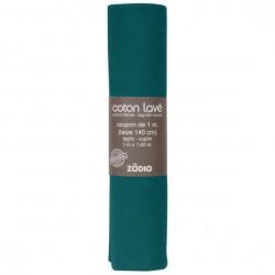Coton lavé 100x130cm - Sapin