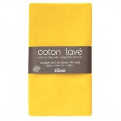 Coton lavé 300x130cm - Safran