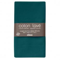 Coton lavé 300x130cm - Sapin