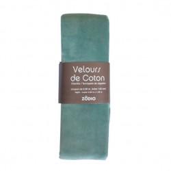 Velours de coton 100x140cm...
