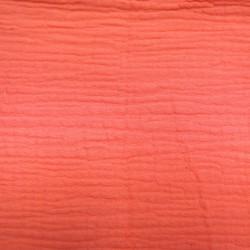 Double gaze 100x130cm - Corail